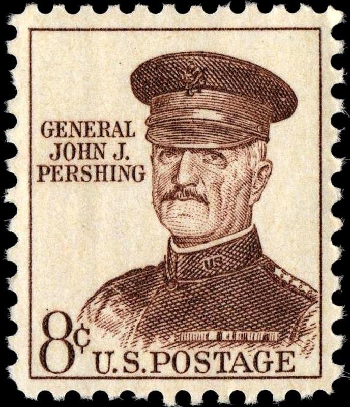 General John J Pershing 8c 1961 issue