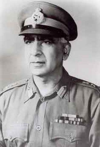 Pran Nath Thapar - Image: General Pran Nath Thapar