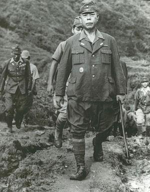 Tomoyuki Yamashita - General Yamashita and his staff surrender on September 2, 1945