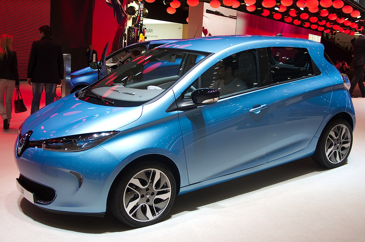 Image result for Renault Zoe official pictures