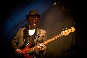 Georg Hólm - Georg Hólm playing live in 2008