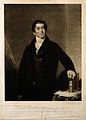 George Birkbeck. Mezzotint by H. Dawe, 1825, after S. Lane. Wellcome V0006452.jpg