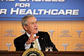 George Bush discusses health transparency-2, August 2006.jpg
