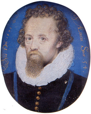 George Carey, 2nd Baron Hunsdon - George Carey, 2nd Baron Hunsdon, by Nicholas Hilliard, 1601
