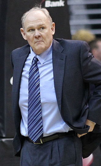 Seattle SuperSonics - George Karl served as Seattle's head coach for six seasons (1992–1998).