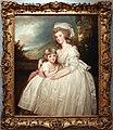 George romney, ritratto di mrs. richard pryce corbet e sua figlia, 1780.jpg