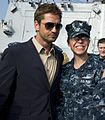 Gerard Butler with Navy (cropped).jpg