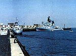 German destroyer Bayern (D183) in 1975.jpg