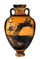 Getty Open Image kleophrades-painter-attic-panathenaic-amphora-greek-attic-490-480-bc depicting four horse chariot race 00871101.png