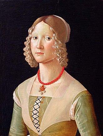 Davide Ghirlandaio - Image: Ghirlandaio Ritratto di giovane donna