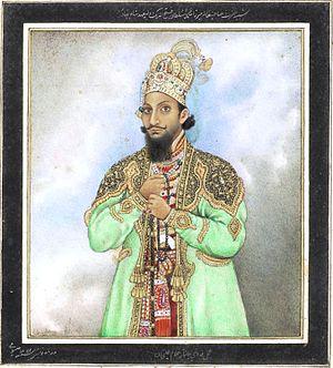 Mirza Fath-ul-Mulk Bahadur - Mirza Muhamed Sultan Sutteh ud-Mulk Shah, the Heir Apparent