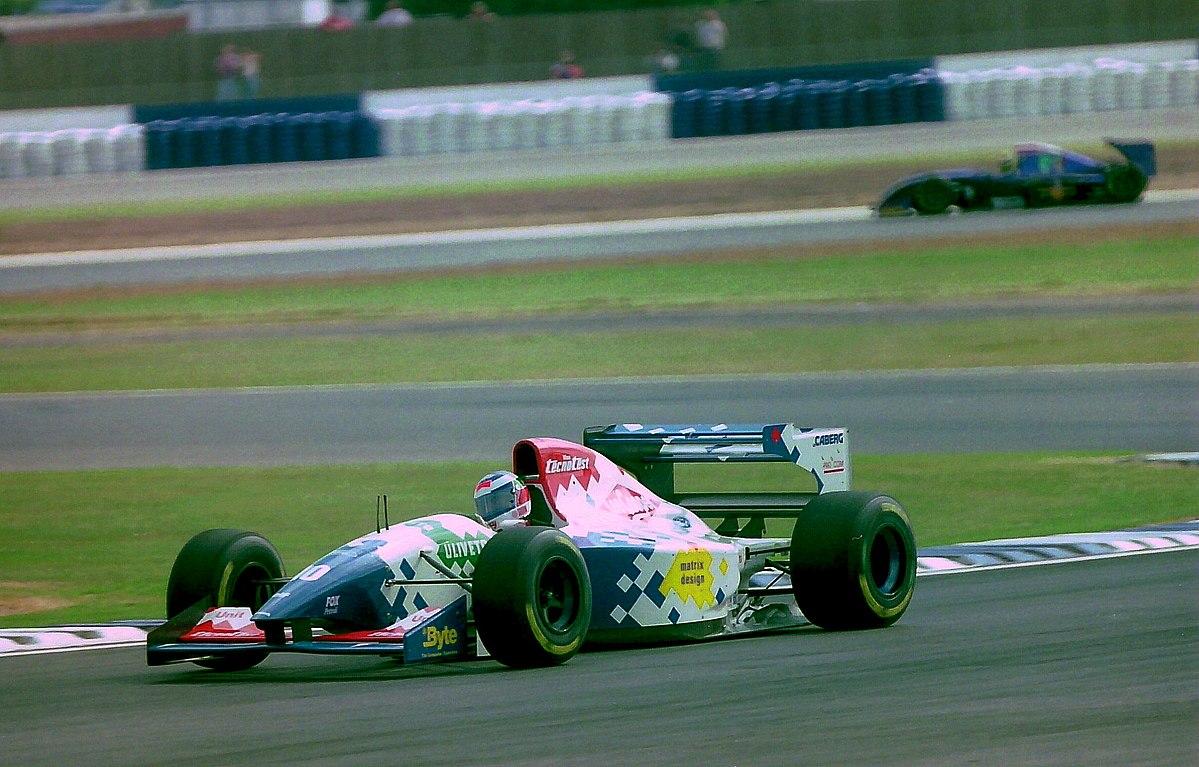 Px Gianni Morbidelli Footwork Fa At The British Grand Prix on 4 6 Ford Engine
