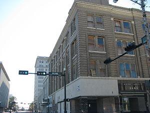 Gilbert Building (Beaumont, Texas) - Image: Gilbertbuildingstree t