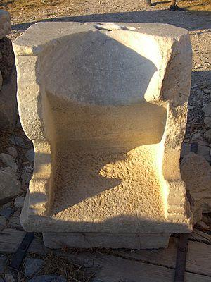 Knidos - Knidos sundial