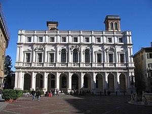 Il Palazzo Nuovo, la biblioteca Angelo Mai