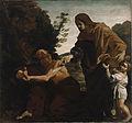 Giovanni Lanfranco - Elijah Receiving Bread from the Widow of Zarephath - 76.PA.1 - J. Paul Getty Museum.jpg