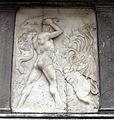 Giovanni antonio amadeo, facciata della cappella colleoni, 1472-75, storie di ercole 01 idra 1.JPG