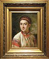 Girl from Podolye by V.Tropinin (b. 1821, Kursk) frame.jpg