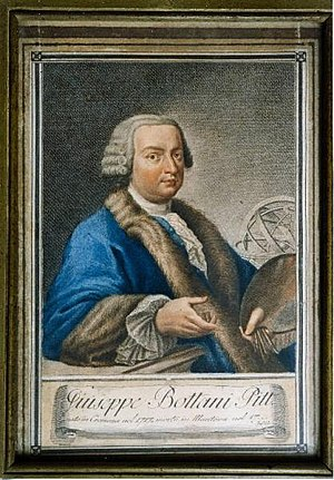 Giuseppe Bottani - Giuseppe Bottani, Self-portrait, 1740.