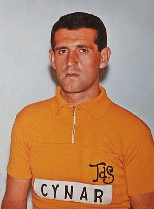 Giuseppe Fezzardi - Fezzardi at the 1963 Tour de Suisse