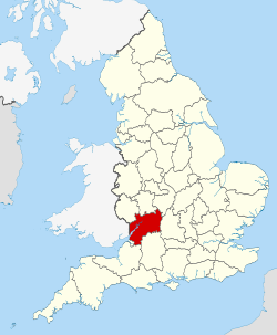 Gloucestershire UK locator map 2010.svg