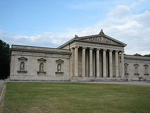 Glyptothek in Munich, Germany. The Glyptothek ...