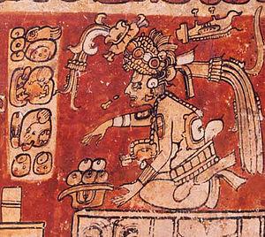 Itzamna - Itzamna as shown in the classic period.