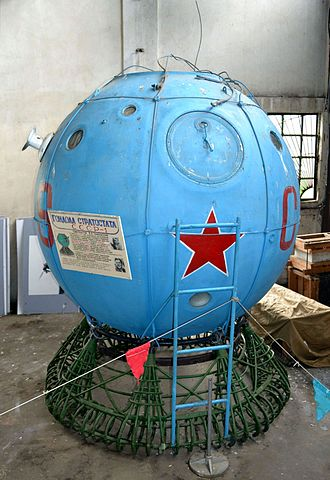 USSR-1 - USSR-1 balloon gondola displayed at the Central Air Force Museum in Monino, Russia.
