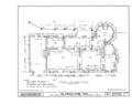 Gonzalez-Alvarez House, 14 Saint Francis Street, Saint Augustine, St. Johns County, FL HABS FLA,55-SAUG,11- (sheet 2 of 7).png
