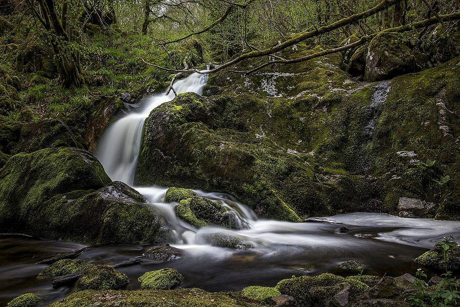La grande cascade, cascade remarquable des gorges de la Canche