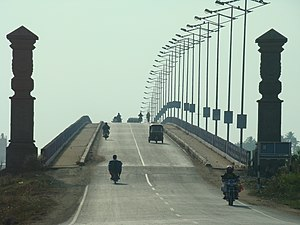 Goshree bridges - The Goshree Bridge No 1 connects Ernakulam to Bolgatty Island