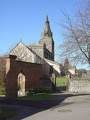 St Lawrence's Church, Gotham - Image: Gotham Church from the north east geograph.org.uk 748093