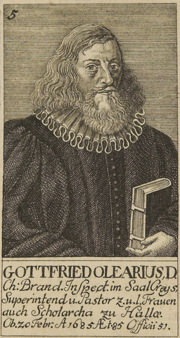 Gottfried Olearius