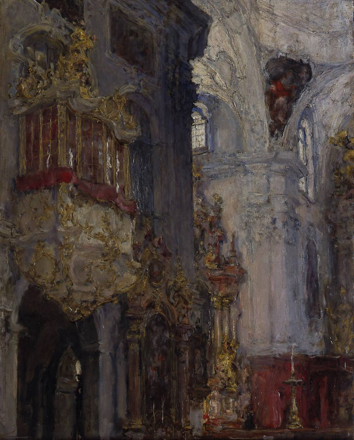 Church interior (St. Peter in Salzburg)