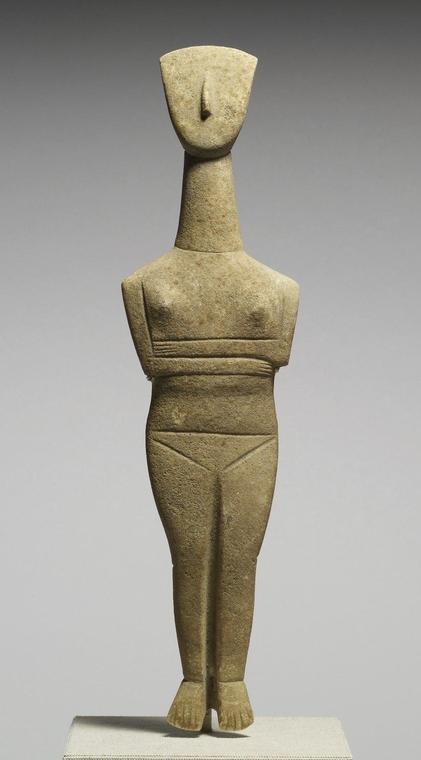 Goulandris Master - Cycladic Female Figurine - Walters 23253.jpg