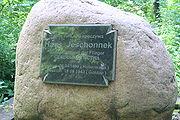 Grab von Hans Jeschonnek