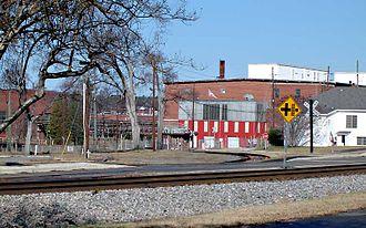 Graniteville, South Carolina - Site of derailment at Graniteville, South Carolina