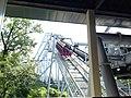 Great Bear roller coaster 3, Hersheypark, 2013-08-10.jpg
