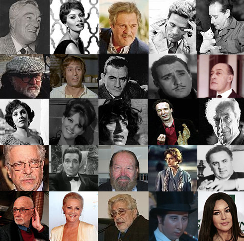 Greatest actors and filmmakers