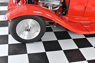 Flooring - Greatmats Garage Floor Tile Diamond is one form of modular polypropylene flooring tiles intended for garages and other automotive areas.