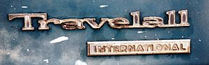International Harvester Travelall - 1970s Travelall badge