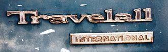 International Harvester Travelall - 1970s Travelall badge