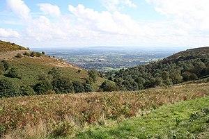 Worcestershire Way - Green Valley, Malvern Hills