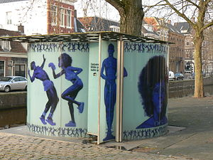 Erwin Olaf - Public toilets designed by Rem Koolhaas and Erwin Olaf in Groningen