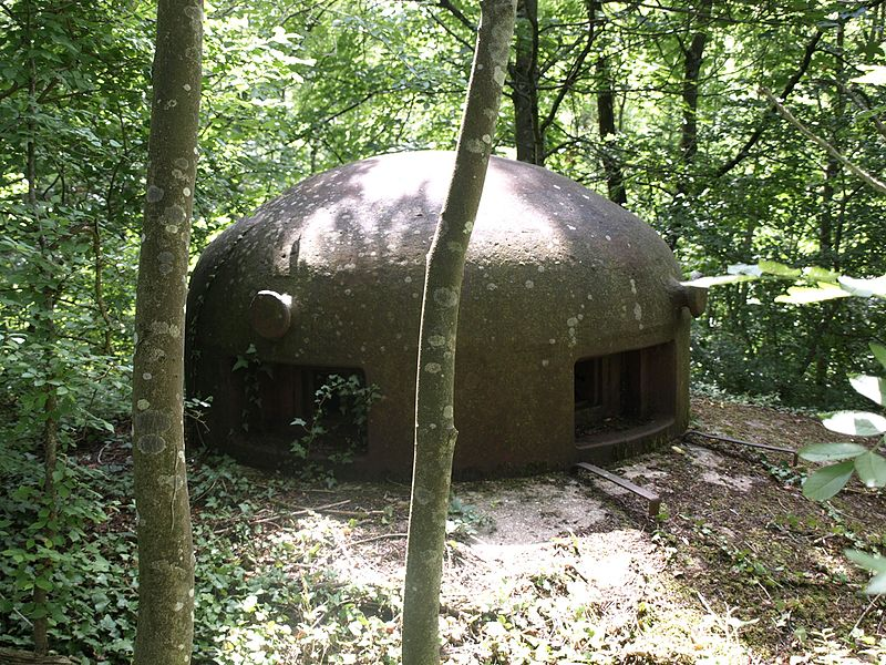 EH - Entre Hommes. Personel-entry       Fort Molvange on the Maginot-Line