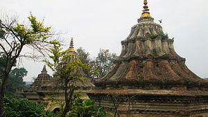 Guhyeshwari Temple - Image: Guhyeshwari Temple Primises 01