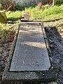 Gulval Churchyard - skull and crossbones on gravestone.jpg