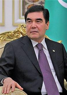 president of Turkmenistan