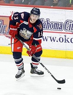 Gustav Nyquist Swedish ice hockey player