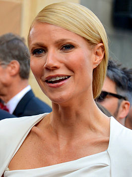 Paltrow bij de Oscars in 2012